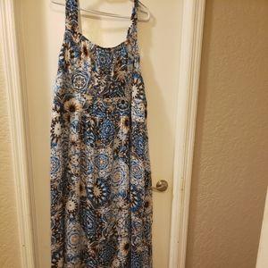 Like New Chiffon Dress with Super Flowy Hem